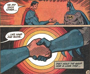 Qui est le gant et qui est la main, dans cette métaphore?