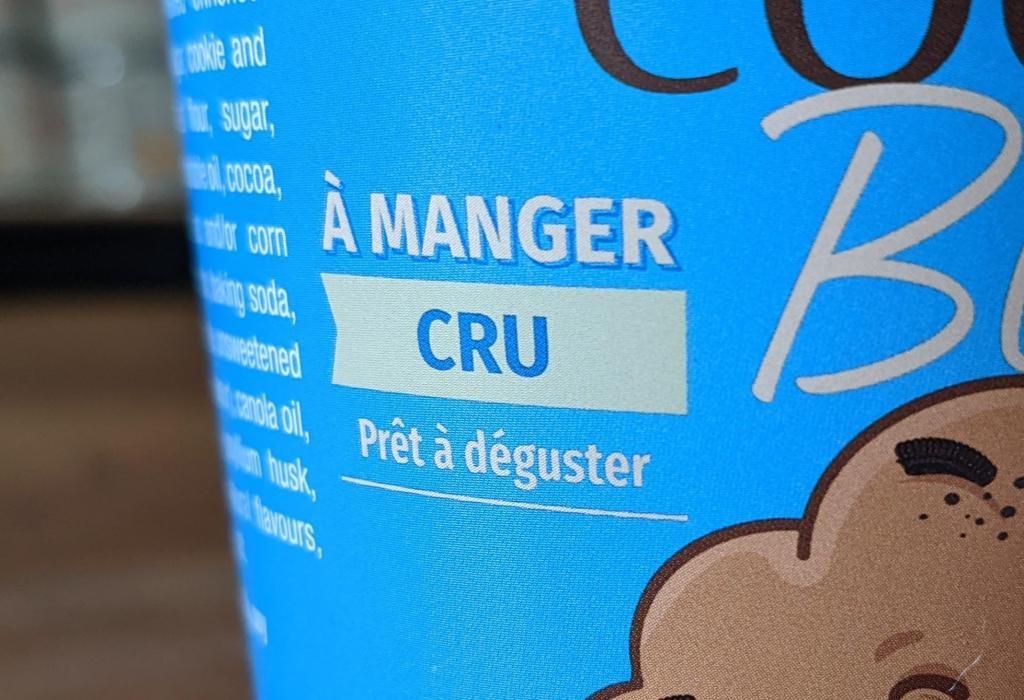 """""""À manger CRU"""""""