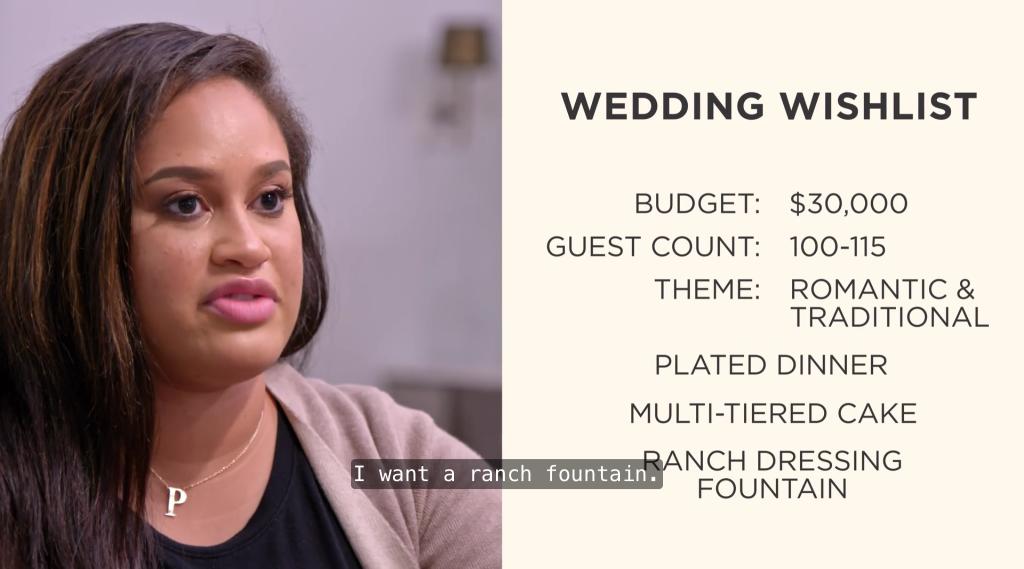 """I want a ranch fountain."""
